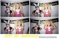 Richard & Dolores 50th Anniversary Photo Booth
