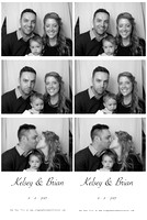 Kelsey & Brian's Wedding Photo Booth