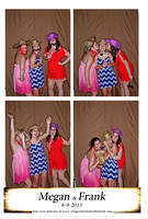 Megan and Franks Wedding Photo Booth